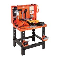 home depot deluxe carrying case workbench home depot toys r us jz xmas presents. Black Bedroom Furniture Sets. Home Design Ideas