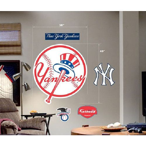 New York Yankees Home Decor: 17 Best Images About New York Yankees Rooms & ( Wo ) Man
