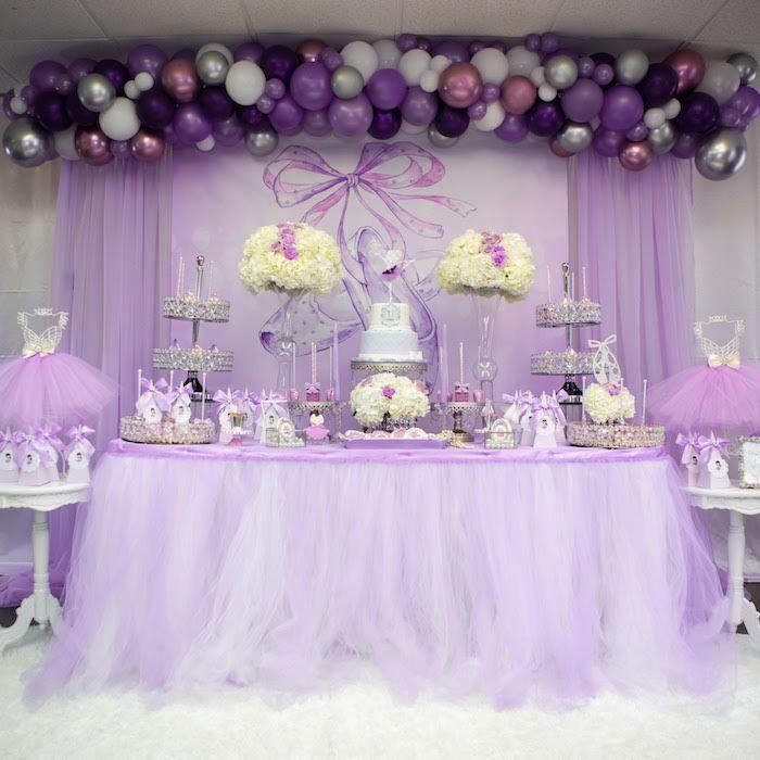 Purple Ballerina Birthday Party Kara S Party Ideas Purple