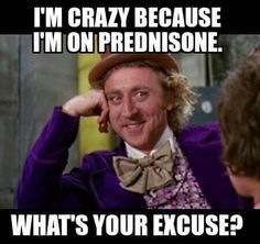 unusual side effects of prednisone