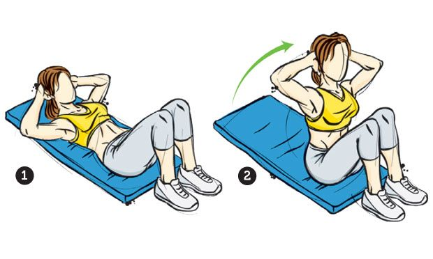 Conquiste uma barriga chapada com os exercícios certos