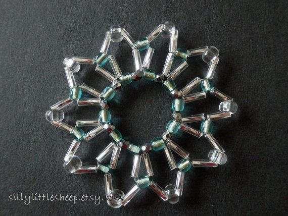 Christmas star  vintagelike ornament made of by sillylittlesheep, $5.00