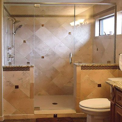 12 best walk in shower options images on pinterest Bathroom remodel with walk in tub