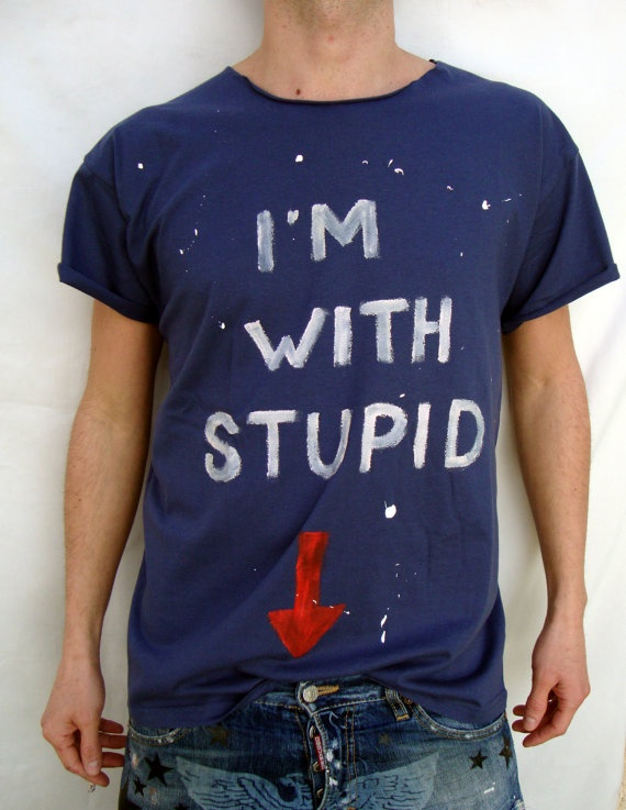 Men's  Handpainted Tshirt by FinGerMadeLaB on Etsy, €30.00
