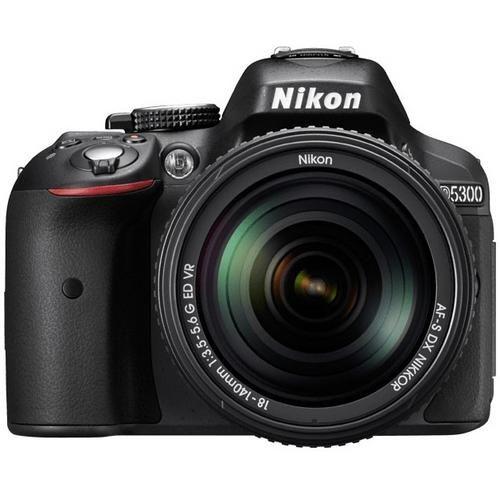 D5300 Digital Camera with AF-S NIKKOR 18-140mm VR Lens
