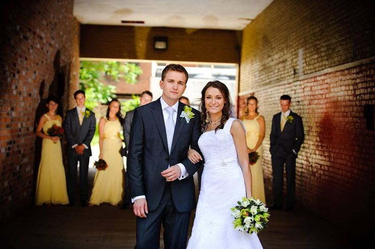 No matter what style your wedding is representing, a suit will showcase just the right look! For a Spring wedding, consider a navy blue colored suit to complement the season.  #spring #springwedding #suit #weddingsuit #tuxedojunction #suitrental