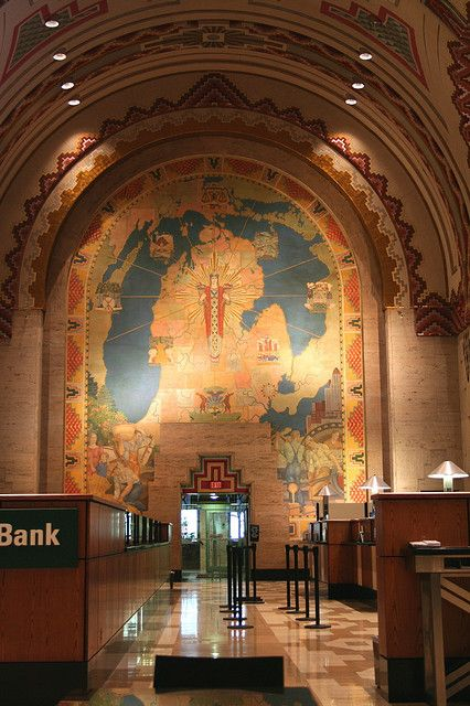 Obsessed with the Guardian Building #Detroit