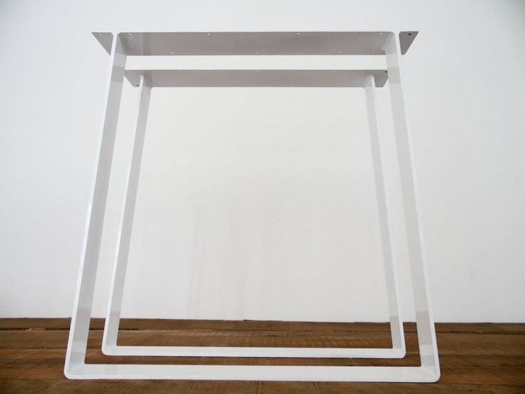 28 Trapezoid Flat Steel Table Legs Width Base By Balasagun