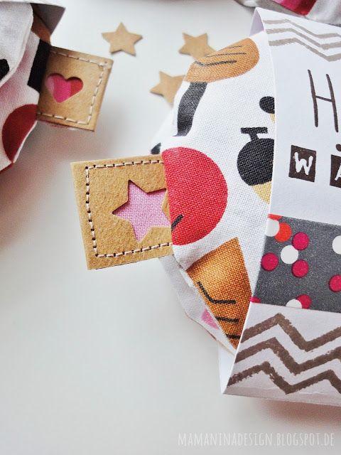 Taschenwärmer selber nähen DIY, Handwärmer für die Jacke, Nähen für Kinder