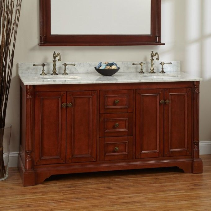 70 Best Bathrooms Images On Pinterest  Bath Vanities Bathroom Amusing Cherry Bathroom Vanity Inspiration