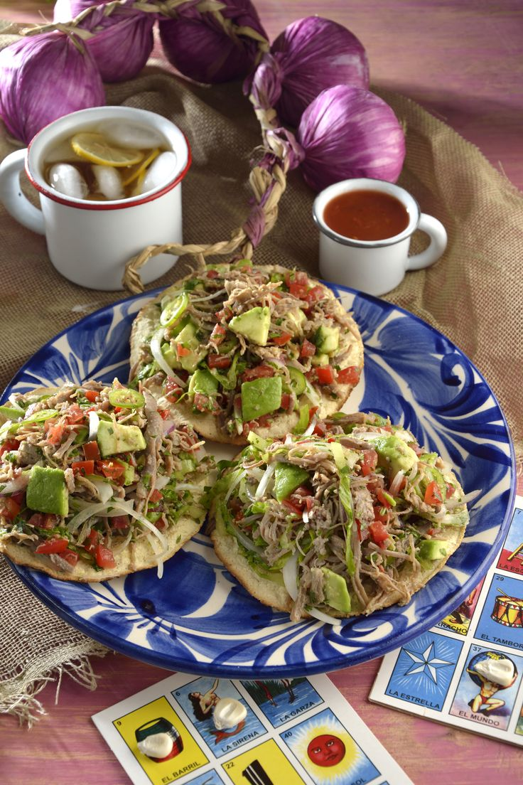 25 best ideas about tostadas on pinterest chicken tostadas easy meals and healthy dinner recipes - Ideas para cocinar ...