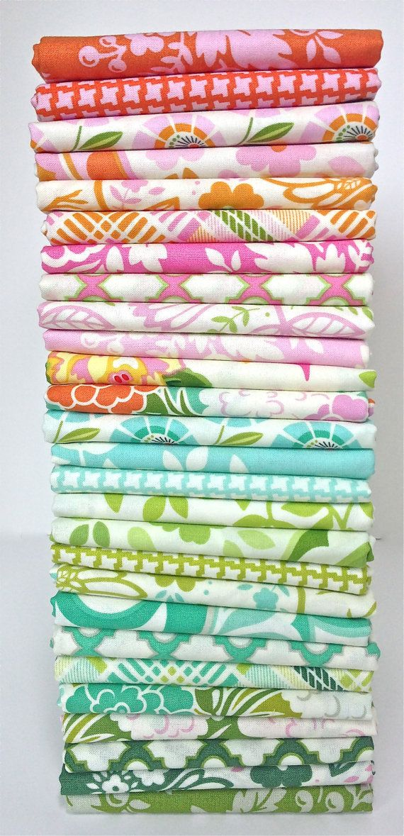 PREORDER Up Parasol Fat Quarter Bundle by VintageModernFabrics, $62.10