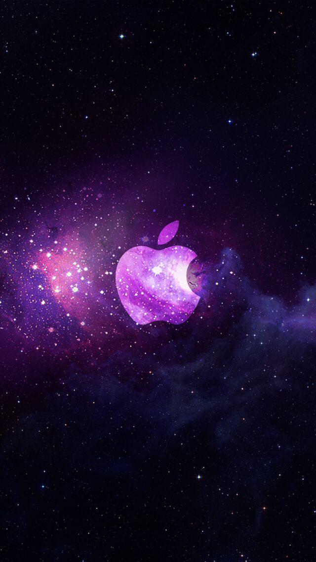 25 best ideas about apple galaxy wallpaper on pinterest
