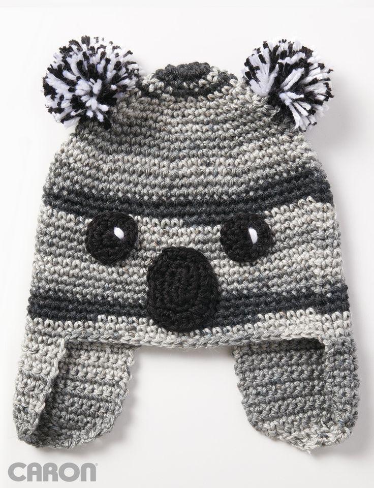 296 best Crochet (Animal Hats) images on Pinterest | Sombreros de ...