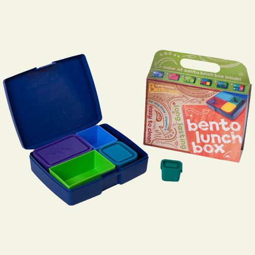 Our fun, sustainable alternative to disposable lunch containers - made in the USA! Laptop Lunch Bento Box 2.0