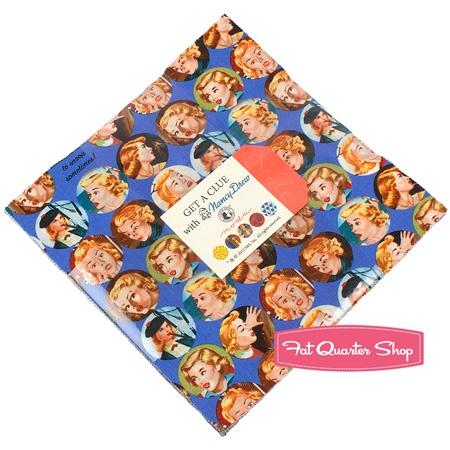 Get a Clue with Nancy Drew Layer Cake Simon & Schuster for Moda Fabrics