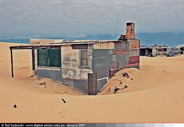 Port Stephens - Stockton Bight Sand Dunes - Tin City 2