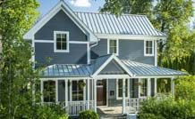 Granted, this is a pretty wide pricing range, therefore, expect a metal shingle roof to average between $7.00 to $10.00 per square foot installed, while a standing seam metal roof will cost between $9.00 to $12.00 per square foot installed.