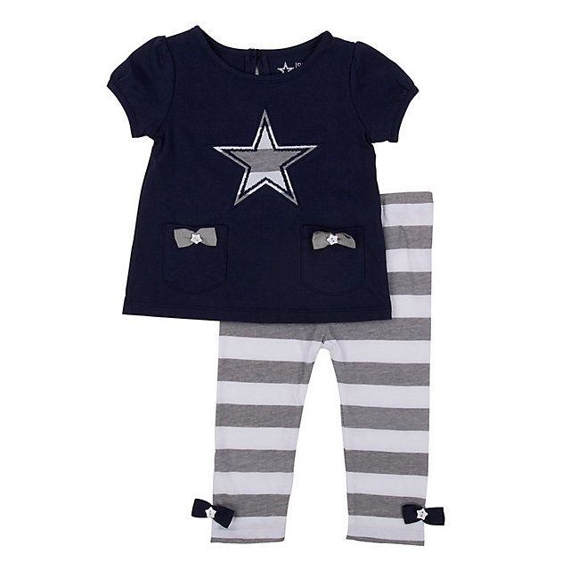 Dallas Cowboys Infant / Toddler Oopsie Daisy Set