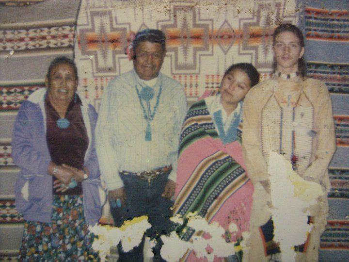 Evelyn and Nathan Buckinham's Navajo Wedding.