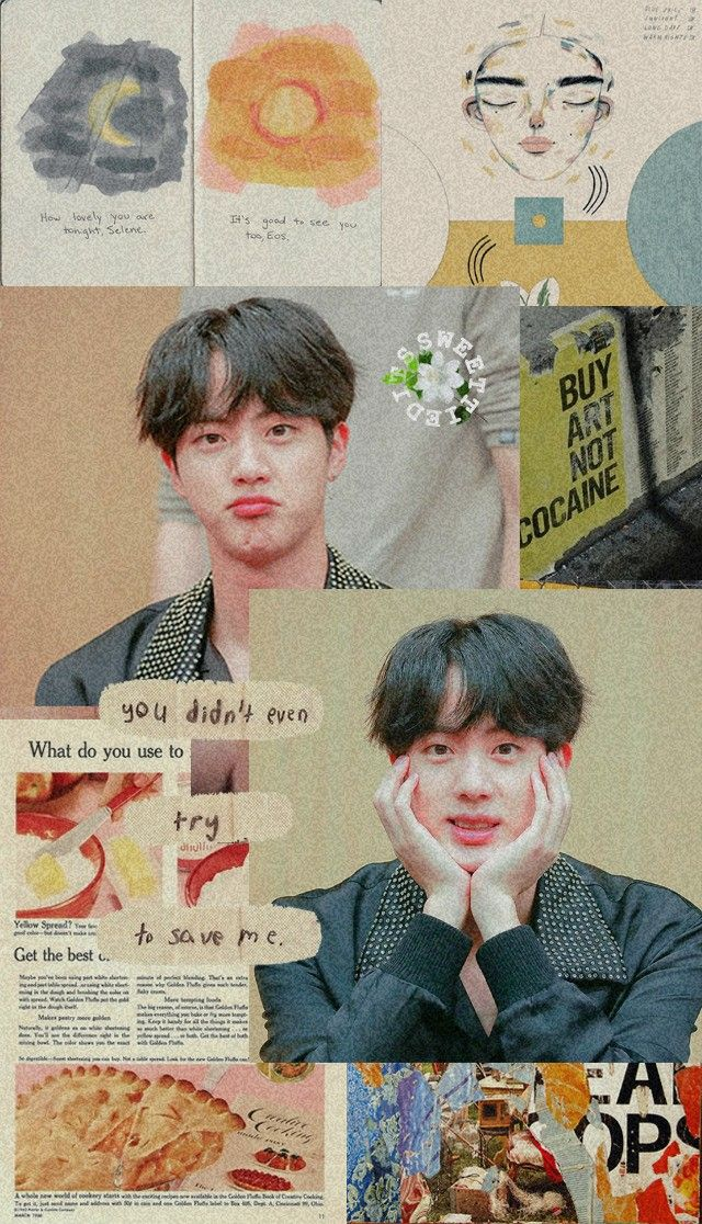 Download Bts Jin Aesthetic Wallpaper Hd Cikimm Com