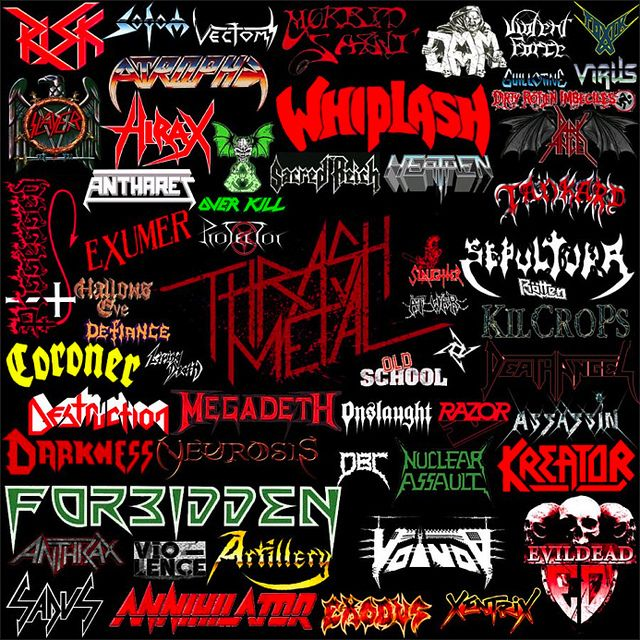 Thrash metal hirax thrash metal collages flickr photo sharing