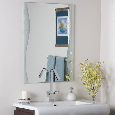 Best Photo Gallery For Website Shop Decor Wonderland Frameless Maritime Wall Mirror at Lowe us Canada Find our selection of bathroom mirrors at the lowest price guaranteed with price