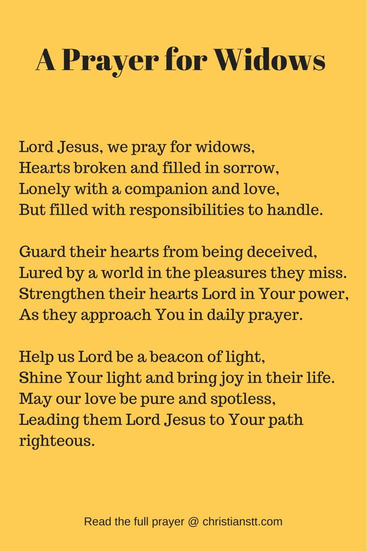 A Prayer for Widows