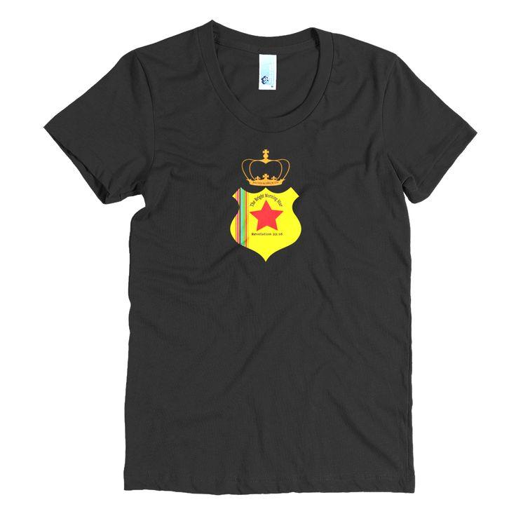 Women's short sleeve t-shirt (The Bright Morning Star)