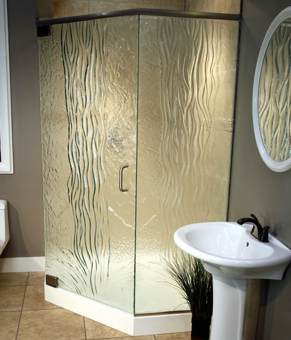 This beautiful cast iron glass shower door will spruce up for Bathroom design visit