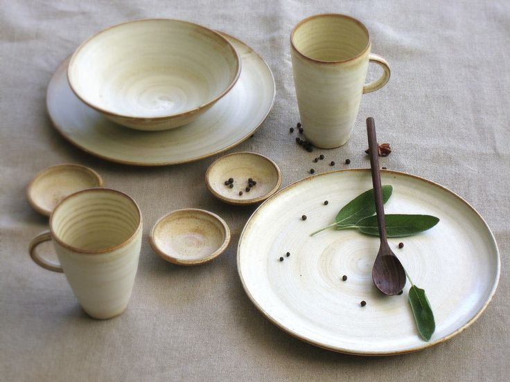 Wedding Gift Dinner Set : Ceramic dinnerware set, White dinnerware, dinner set, wedding gifts ...