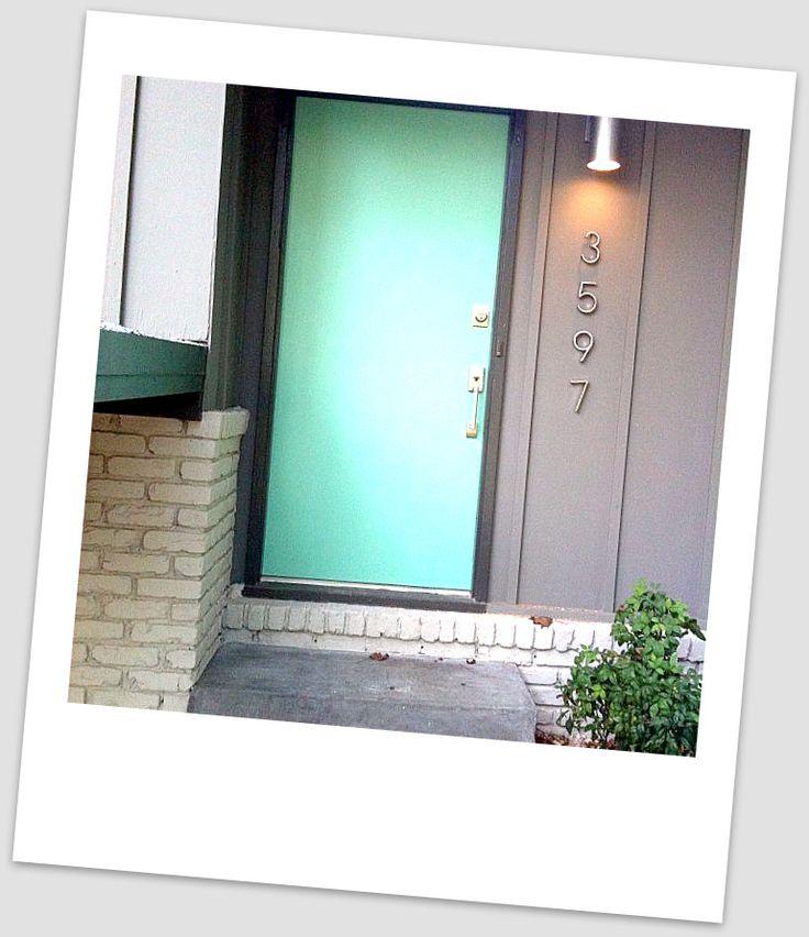 Mid Century Modern Front Door - Google Search