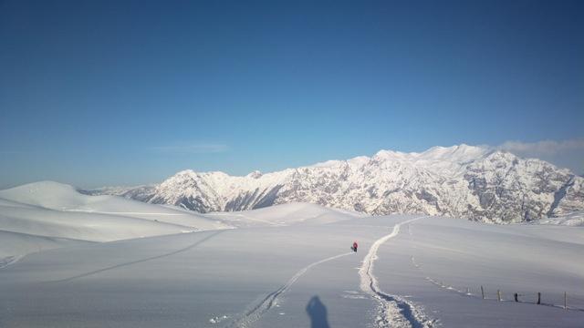 Lessinia - Giornata di neve e sole