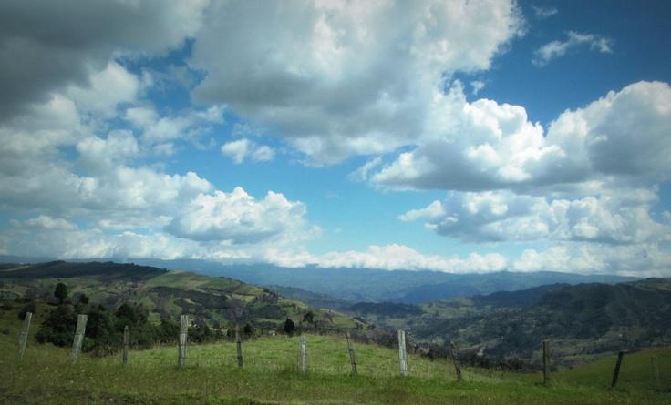 Vía Tunja, Boyacá - Colombia