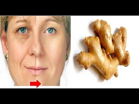 Mira lo que el jengibre puede hacer en tu rostro / Remedios naturales - YouTube