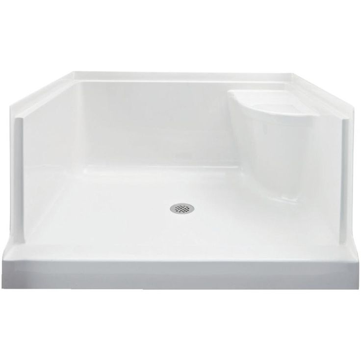 48 X 36 Ellis Left Hand Fixture Shower Base With Right Hand