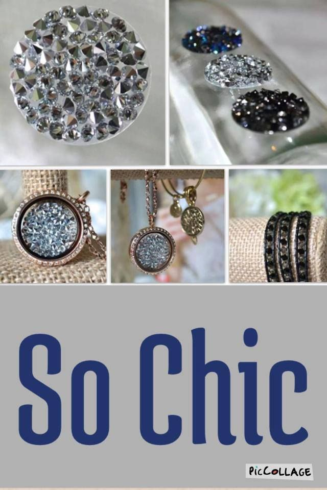 South Hill Design by Lourdes. did she use a tealight holder to display crystal embellishments?