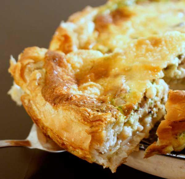 Recipe: Seafood and Pesto Quiche   eatwell101.com