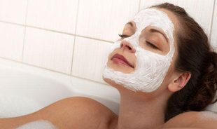 """Brighten: Combine 2 Tbsp sour cream with 2 Tbsp honey and 1 Tbsp apple cider vinegar or lemon juice. Apply to your cleansed face and leave on for 20 minutes. Rinse with tepid water followed by a cool (not cold) rinse. This mask can be done twice a week. """"This mask heals, exfoliates, brightens and moisturizes skin. It refines pores, fades acne marks and prevents blemishes from coming up,"""" says Macan-Graves."""