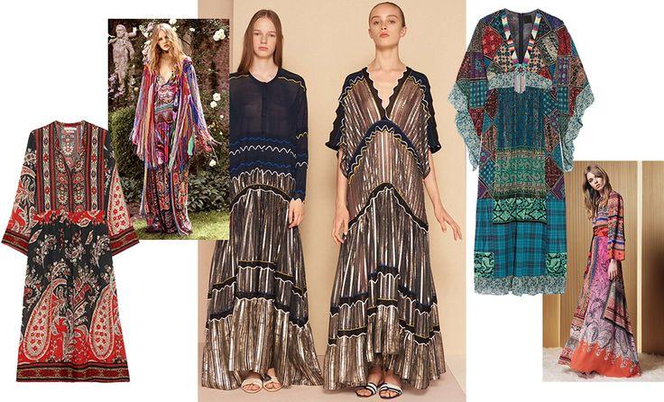 Богемные платья — ключевая вещь в круизных коллекциях 2017