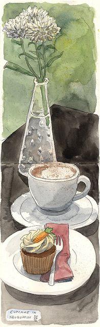 Cupcake in Neuruppin by KatrinMerle, via Flickr
