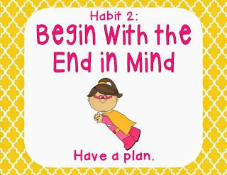 64 best images about Habit 2 Begin with the End in Mind on ...