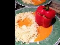 Rezept Gefüllte Paprikaschoten wie bei Muttern von Beate Carola - Rezept der Kategorie Hauptgerichte mit Fleisch