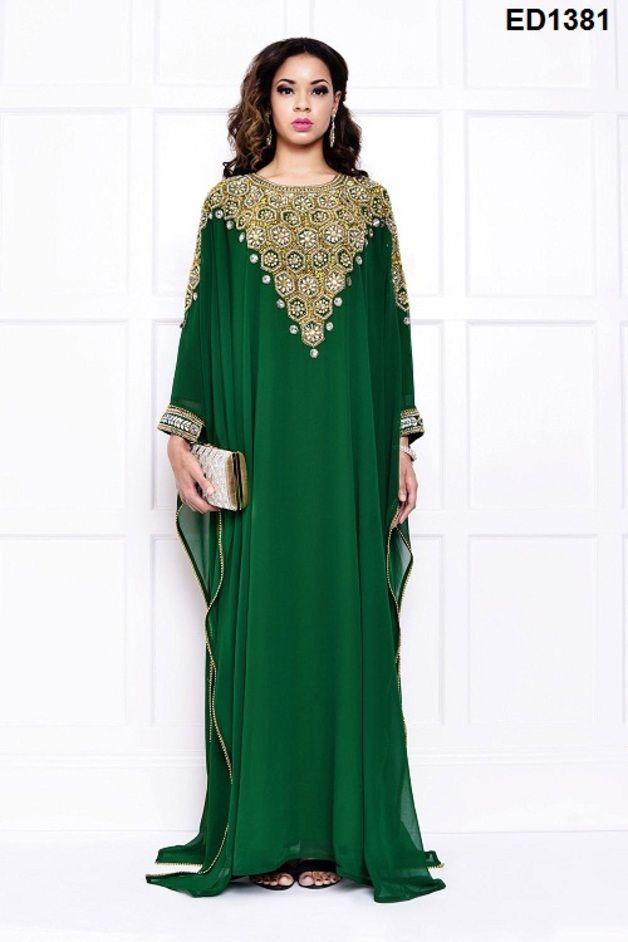 Kaftane - Dubai Nikah islamischen Kleider jalabiya Kaftan - ein Designerstück von HandicraftsforAll bei DaWanda