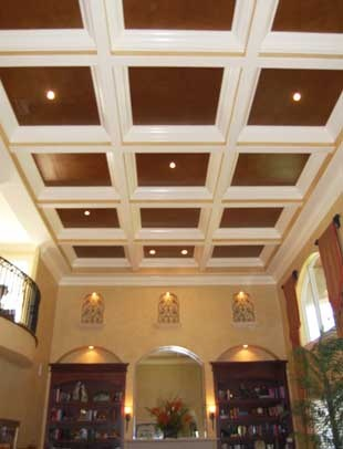 17 Best Images About Coffered Ceilings On Pinterest