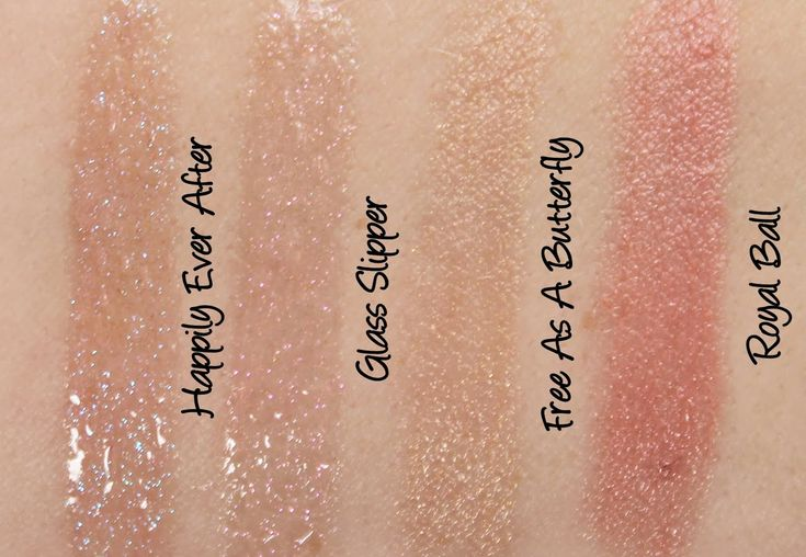 MAC Cinderella: Royal Ball & Free As A Butterfly Lipsticks, Happily Ever After & Glass Slipper Lipglass Swatches & Review