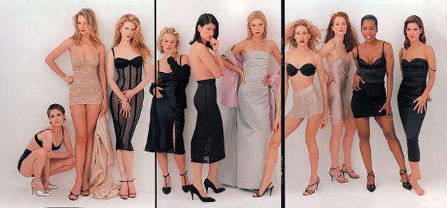 Young Hollywood Vanity Fair 1995 Jennifer Jason Leigh, Uma Thurman, Nicole Kidman, Patricia Arquette, Linda Fiorentino, Gwyneth Paltrow, Sarah Jessica Parker, Julianne Moore, Angela Bassett, and Sandra Bullock.