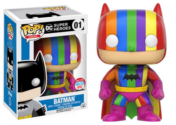 Batman 75th Anniversary Rainbow Batman Pop! Vinyl Figure