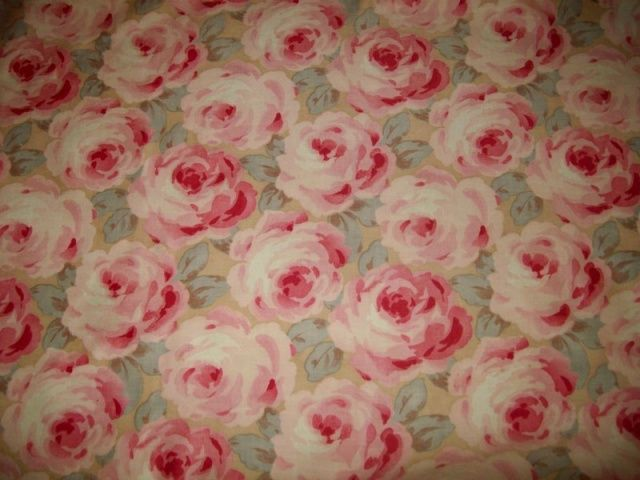antique french rose fabric