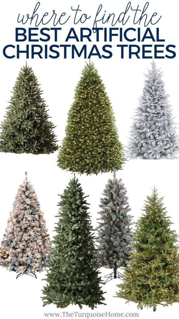 The Best Artificial Christmas Trees Of 2020 Best Artificial Christmas Trees Artificial Christmas Tree Fake Christmas Trees